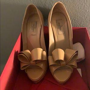 Valentino bow pumps